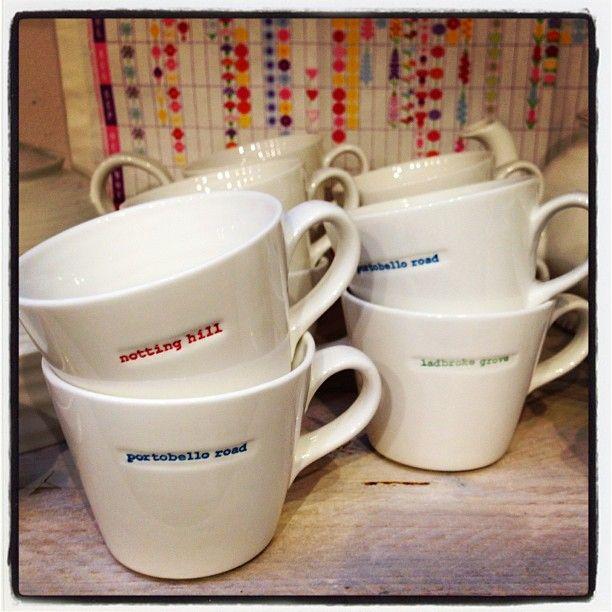 Local area mugs from ceramicablue