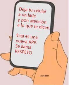 Nueva app llamada respeto