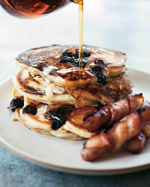 Blueberry Buttermilk Pancakes. | pancakes, muffins, waffles, crepes ...