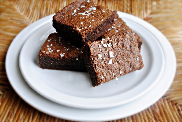 Salted Fudge Brownies: | f o o d i e . | Pinterest