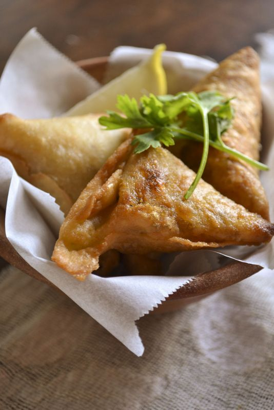 Meat Samosa....make ahead party appetizer