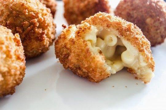 ... ) Fried Macaroni and Cheese Balls Recipe #NFL #Playoffs #Gameday