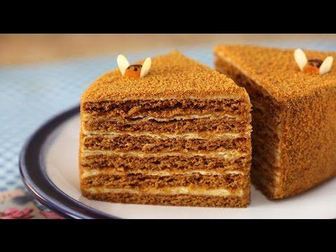 Торт медовый рецепт в домашних условиях рецепт