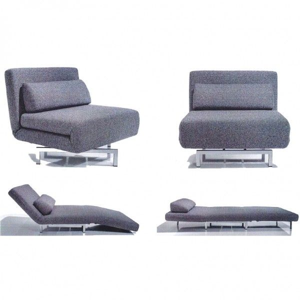 Iso Chairbed 360 degree swivel chair that converts into a single bed ...