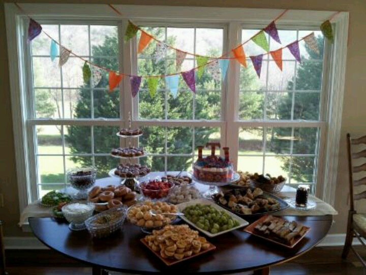 baby shower brunch showers ideas gifts pinterest