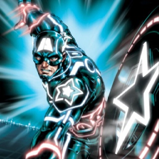 Captain America & Tron?! I'm freaking out