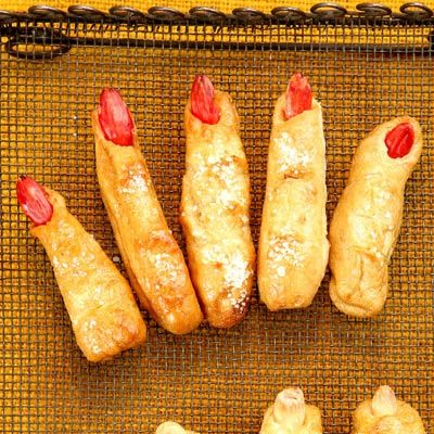 Ladies Fingers and Mens Toes - Scary Halloween Recipes - Gross and ...