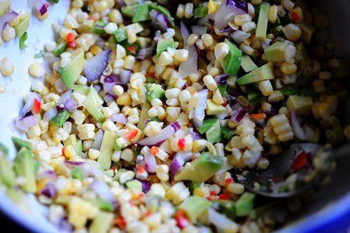 Fresh Corn and Avocado Salsa | Recipe