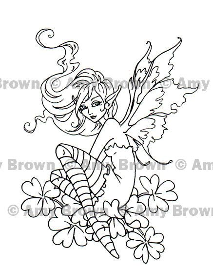 amy brown coloring pages free - photo#25