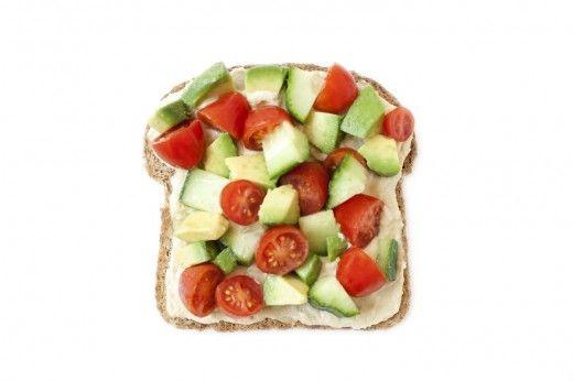 mediterranean toast (+recipe)