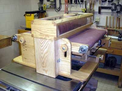 Another homemade drum sander, inspired by the one from ShopNotes magazine. » Amazing Pictures ...