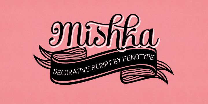 This is a purrrrty font too...