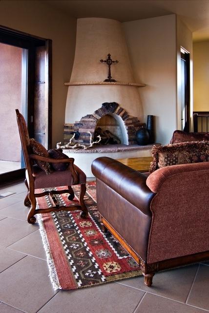 Kiva Fireplace In Santa Fe Home Pinterest