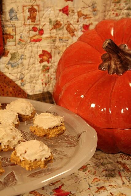Spiced Pumpkin Oatmeal Cookies   Cookies   Pinterest