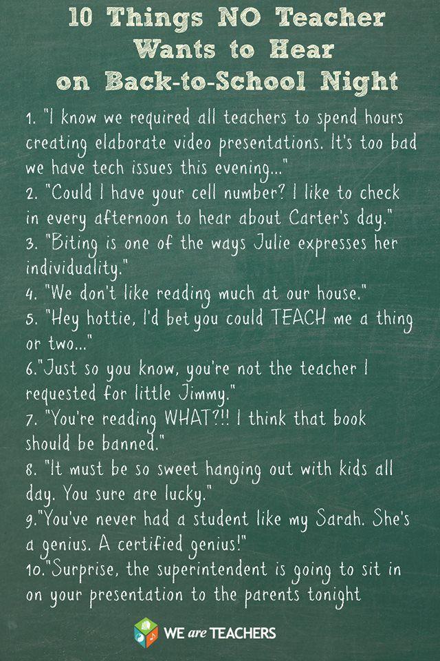 Quotes Back To School Night. QuotesGram