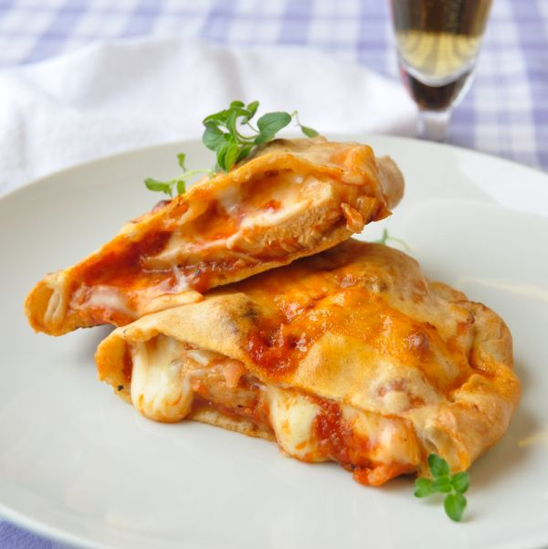 Barbecue Chicken Calzone | Main Course Recipes | Pinterest