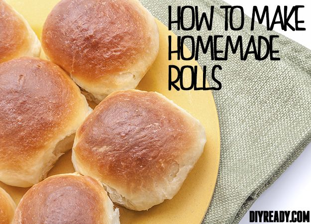 How To Make Homemade Rolls From Scratch: Mom's Homemade Yeast Roll ...