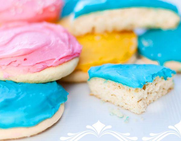 Frosted sugar cookies #recipe #sugar #cookies
