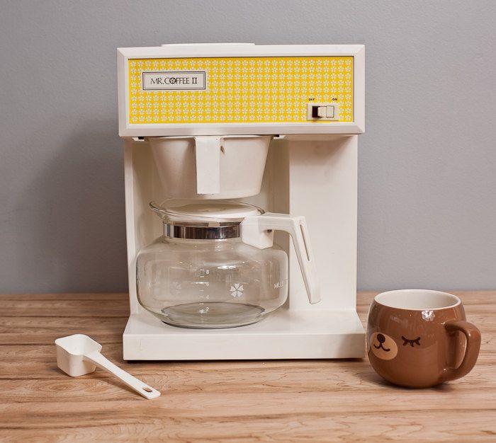 Old Mr Coffee Maker : Vintage Coffee Maker - New In Box Mr Coffee II Coffee Maker - 1960s vintage