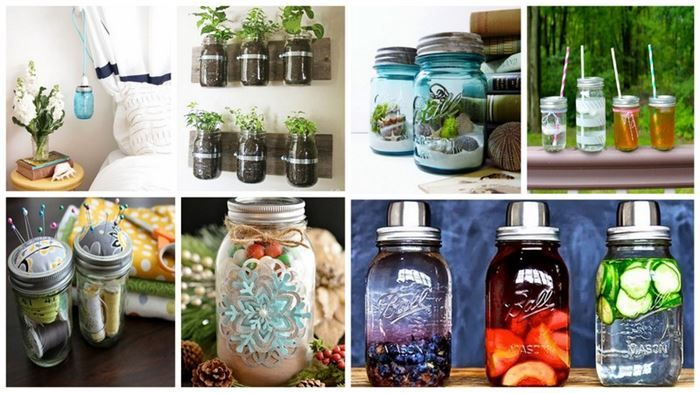 10 Creative Mason Jar Ideas-- #Julie Ingermanson--this is for you