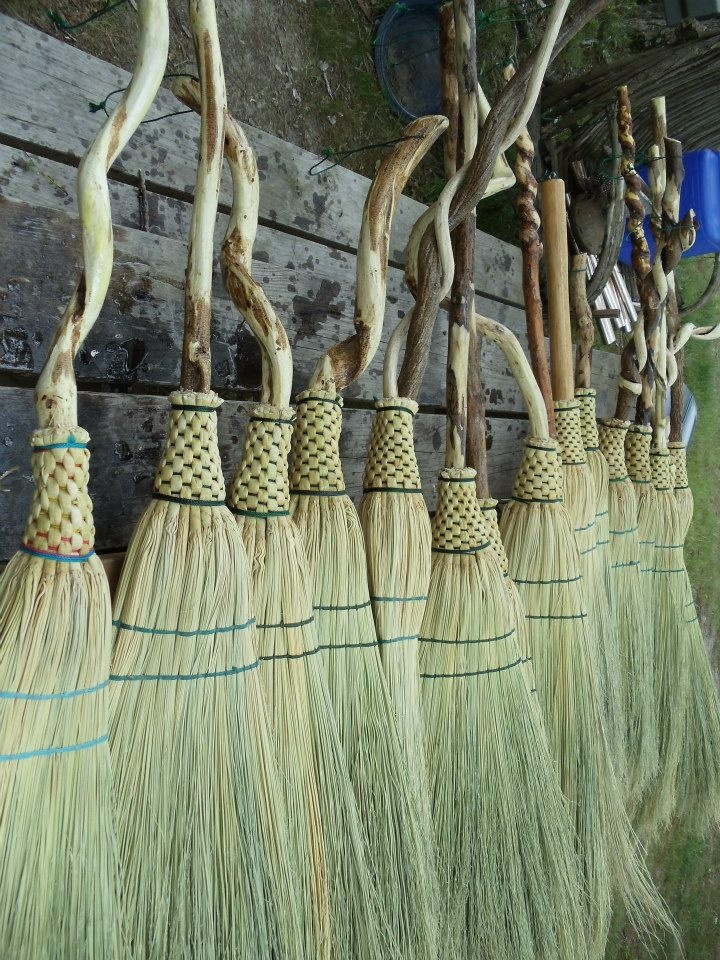 three days of learning the appalachian craft of making your own broom