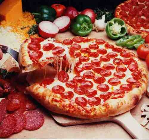 Pepperoni Pizza | Food | Pinterest