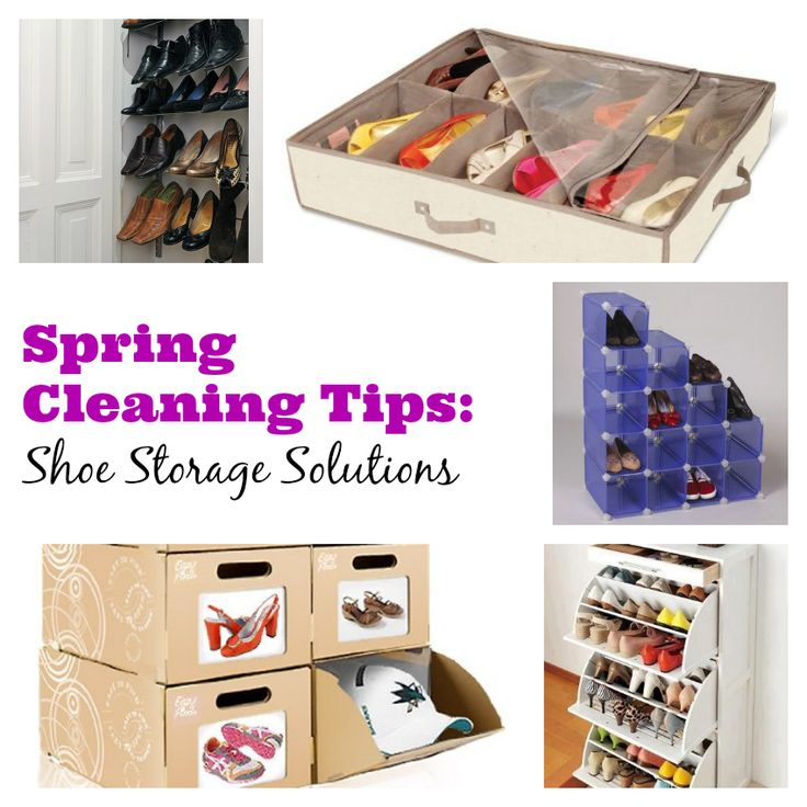 Spring cleaning tips shoe storage solutions mummy alarm Cleaning tips for the home uk