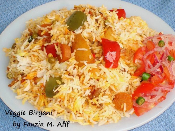 Vegetable Biryani | Fauzia's Kitchen Fun | Pakistani Food | Pinterest