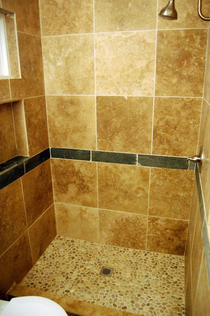 Re tile shower floor