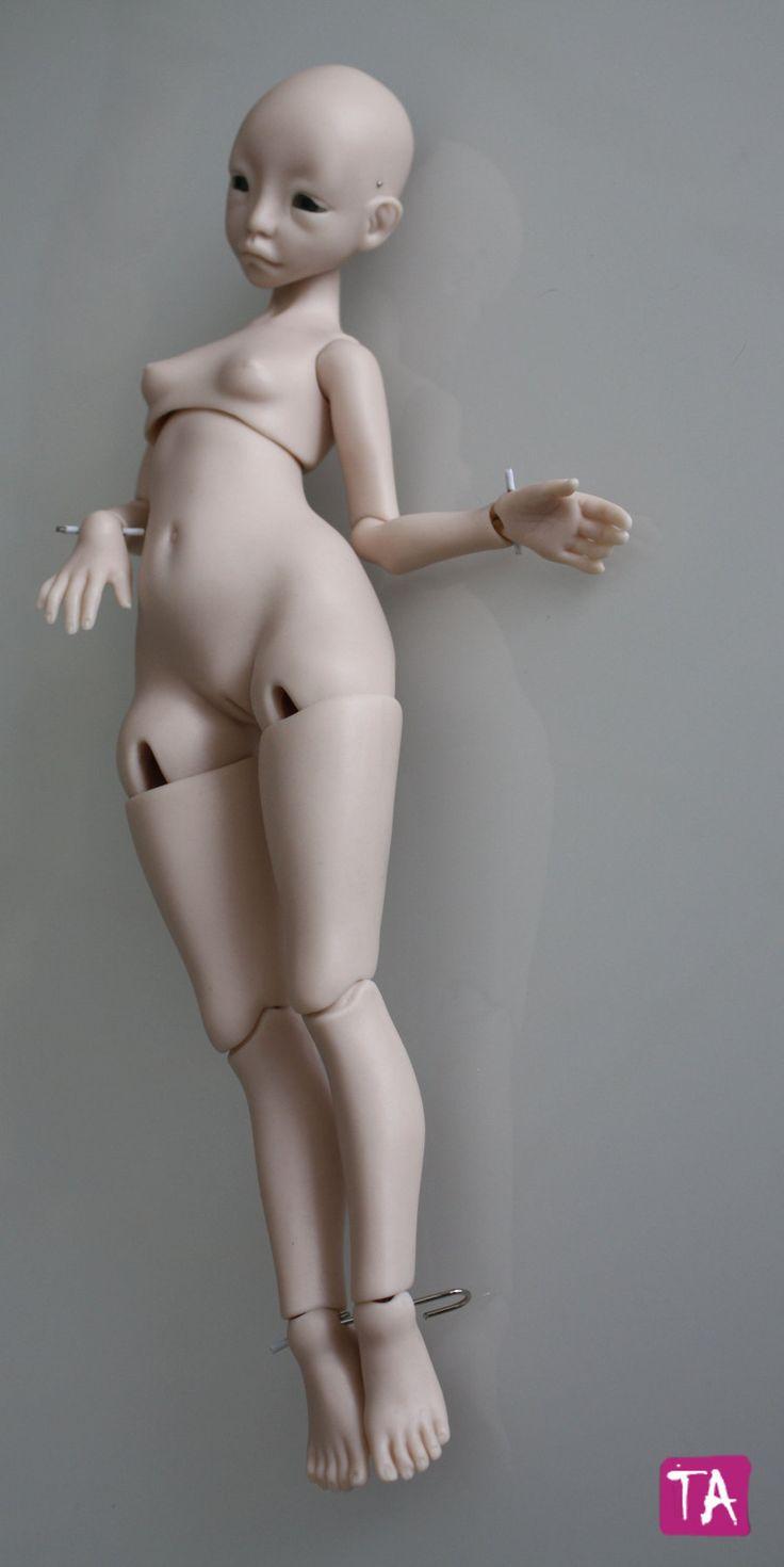 Как сделать шарнирную куклу мужчину
