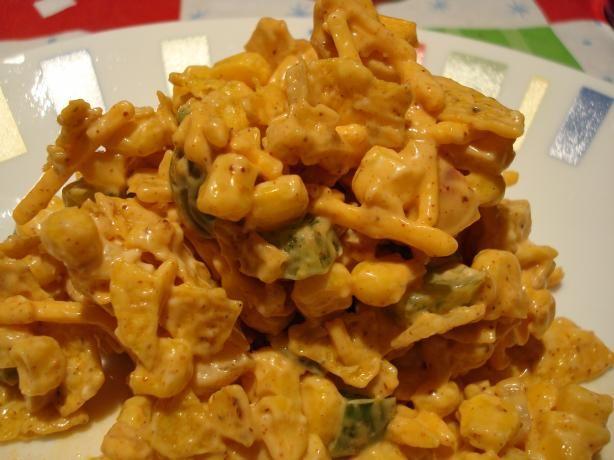 ... corn salad sweet corn salad wraps rissoles with corn chip salad recipe