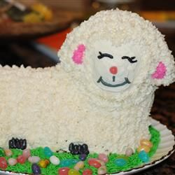 Easter Lamb Cake II | Recipe