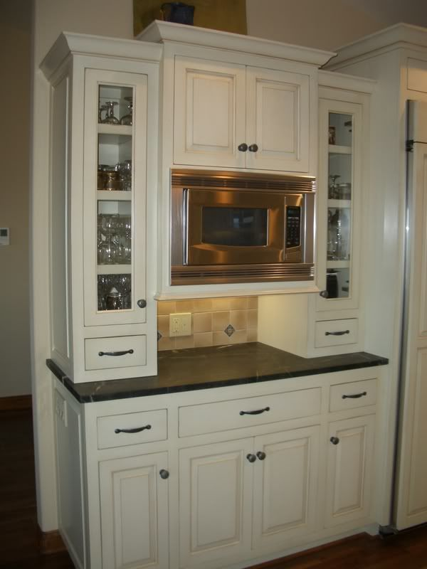 Countertop Microwave Gardenweb : tsdivers kitchen - microwave counter home decor Pinterest