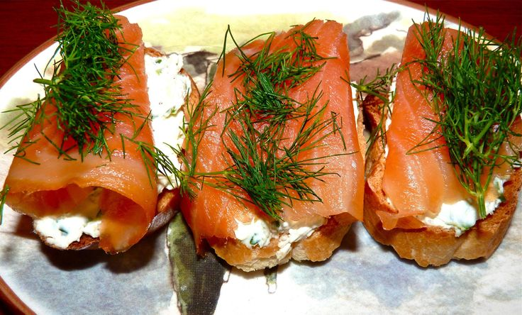 Smoked salmon, goat cheese and dill | Recipes, Food and Drink | Pinte ...