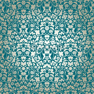 Pin by maggie hansen on wallpaper wall paint pinterest - Green and turquoise wallpaper ...