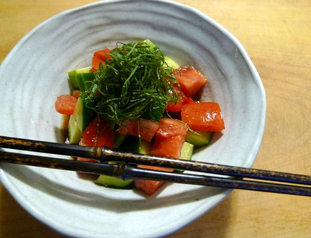 wafu dressing - 1/2 cup Japanese rice vinegar, 2 tablespoons soy sauce ...