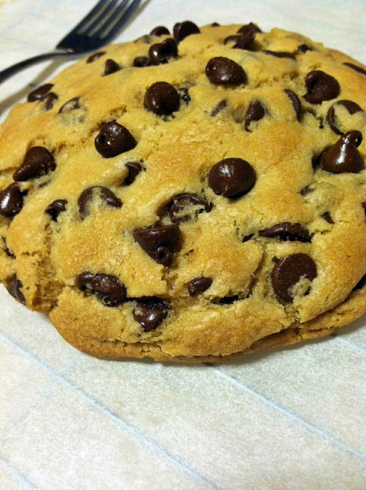 giant chocolate chip cookie | Shaw Hill Cookies & Candies | Pinterest