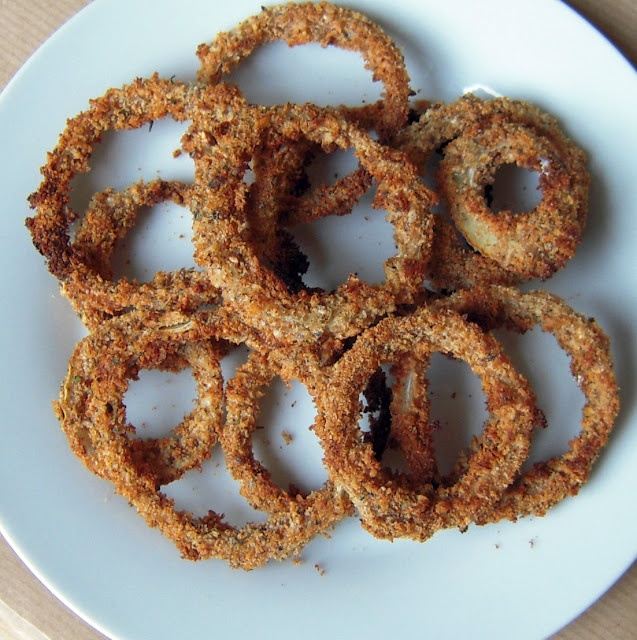 Crispy Baked Onion Rings. Baked! | Eats | Pinterest