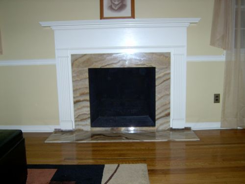 Ideas to finish fireplace for the home pinterest - Fireplace finish ideas ...