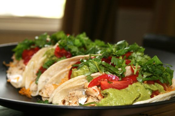 Lime Chicken Soft Tacos | Main Courses | Pinterest