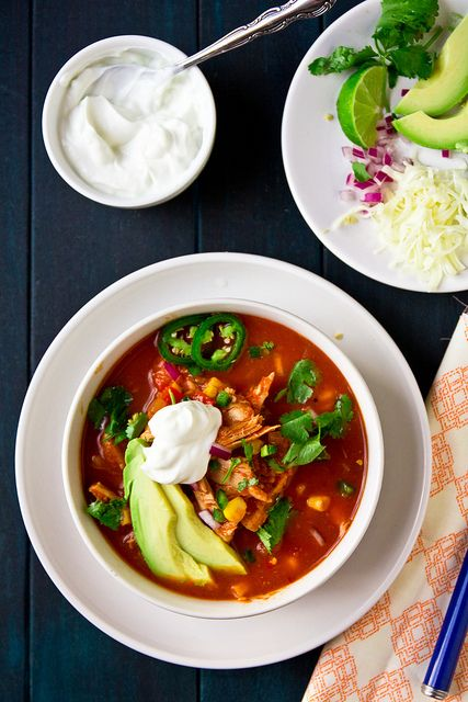 Chicken Tortilla Soup. Easily one of the best soups I've ever made ...