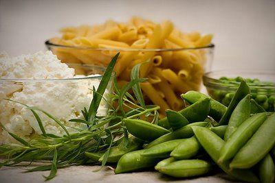 Two-Pea Pasta with Ricotta and Tarragon | Recipe