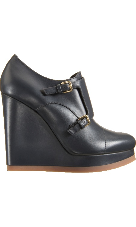 Jil Sander Double Monk Wedge