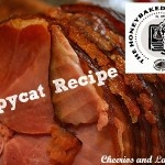 Honeybaked Ham Copycat Recipe {Just like the stores; except less expensive!}  #ham #copycat recipes