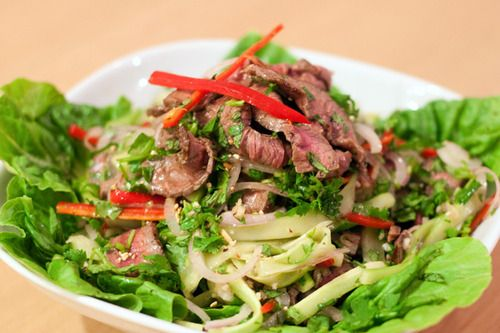 ... Thai Beef Salad Recipe | How to make Grilled Thai Beef Salad - Thai
