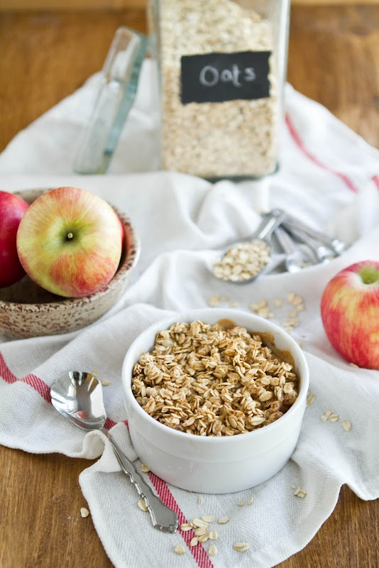 "Baked ""Apple Pie"" Oatmeal. Found by Naturally Ella on Lottie and ..."