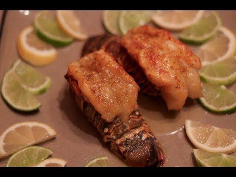 Cedar Planked Rock Lobster Tails Recipe | Everything Lobster! | Pinte ...