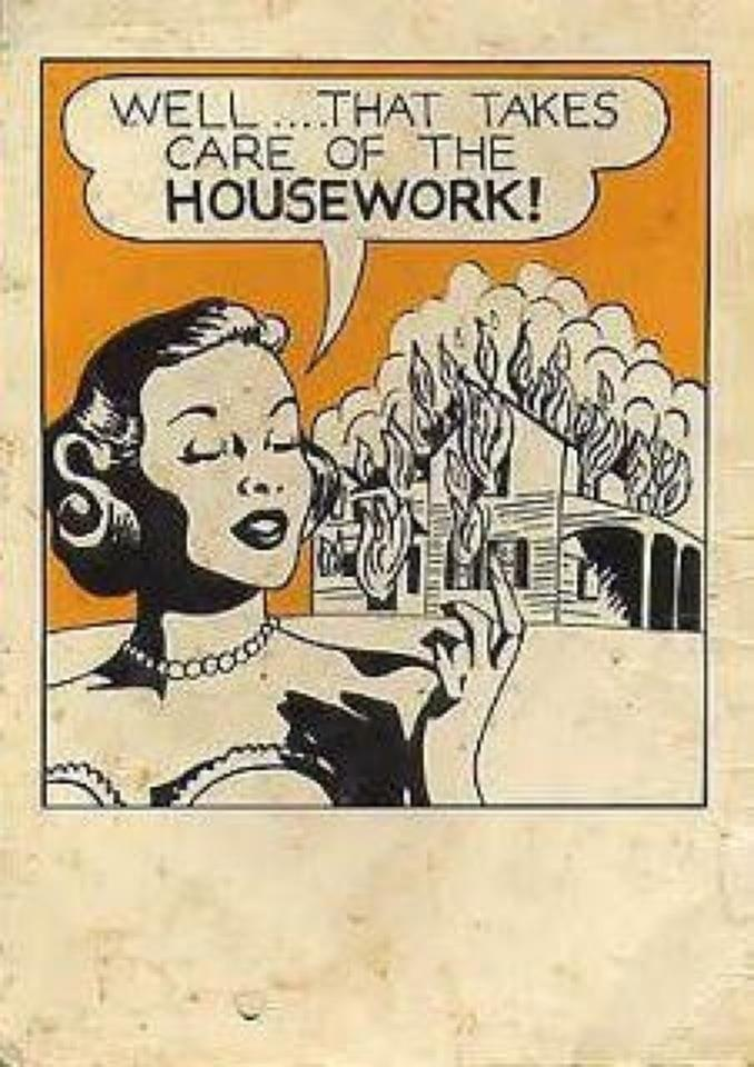 Funny House Cleaning Meme : Housework laugh pinterest