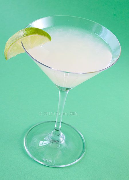 Classic Daiquiri | Kitchen Riffs Cocktails | Pinterest