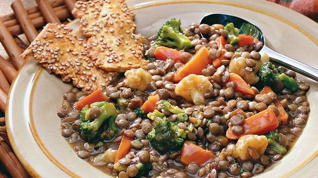 Lentil and Mixed-Vegetable Casserole | Recipe